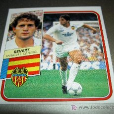 Cromos de Fútbol: CROMO BAJA REVERT VALENCIA CROMOS ALBUM ESTE LIGA FUTBOL 1989-1990 89-90 . Lote 18798452