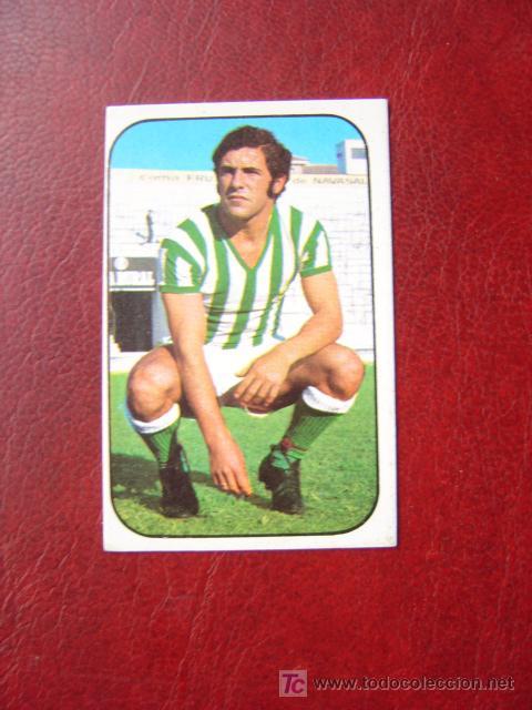BENITEZ - REAL BETIS - EDICIONES ESTE 1976-1977 - 76-77 (Coleccionismo Deportivo - Álbumes y Cromos de Deportes - Cromos de Fútbol)
