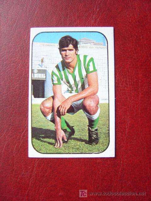 BIOSCA - REAL BETIS - EDICIONES ESTE 1976-1977 - 76-77 (Coleccionismo Deportivo - Álbumes y Cromos de Deportes - Cromos de Fútbol)