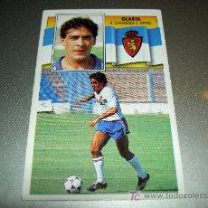 Cromos de Fútbol: CROMO GLARIA ZARAGOZA CROMOS ALBUM EDICIONES ESTE LIGA FUTBOL 1990-1991 90-91 . Lote 19166861