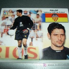 Cromos de Fútbol: CROMO FICHAJE 25 PALOP VALENCIA CROMOS ALBUM EDICIONES ESTE LIGA FUTBOL 1999-2000 99-00 . Lote 19386504