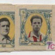 Cromos de Fútbol: FICHA DEPORTIVA INFANTIL. LOTE DE 5 CROMOS.. Lote 19399980