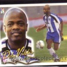 Cromos de Fútbol: EDICIONES ESTE 2000/01 - DELY VALDÉS ( COLOCA ) ( NUNCA PEGADO ) - MALAGA CF. 00/01 ( ) . Lote 22421953