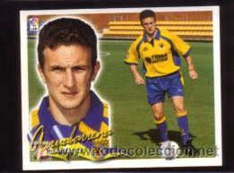 EDICIONES ESTE 2000/01 - ARRUABARRENA ( COLOCA ) ( NUNCA PEGADO ) - VILLARREAL CF. 00/01 ( ) (Coleccionismo Deportivo - Álbumes y Cromos de Deportes - Cromos de Fútbol)
