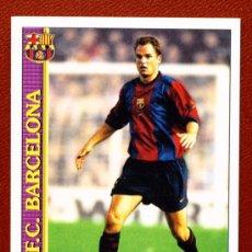 Cromos de Fútbol: FRANK DE BOER - DEL BARCELONA - LIGA 2000 EDITORIAL MUNDICROMO -. Lote 19755314