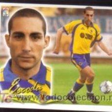 Cromos de Fútbol: EDICIONES ESTE 2000/01 - ESCODA ( NUNCA PEGADO ) - VILLARREAL CF. 00/01 ( ) . Lote 19766070