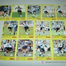 Cromos de Fútbol: CON ERROR Y CORREGIDO LOTE CROMOS MERIDA JUEGO COMPLETO ALBUM DIARIO AS LIGA FUTBOL 1995 1996 95 96. Lote 22051534