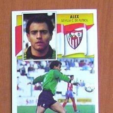 Cromos de Fútbol: SEVILLA - ALEX - BAJA - EDICIONES ESTE 1990-91, 90-91 - NUNCA PEGADO. Lote 20106810