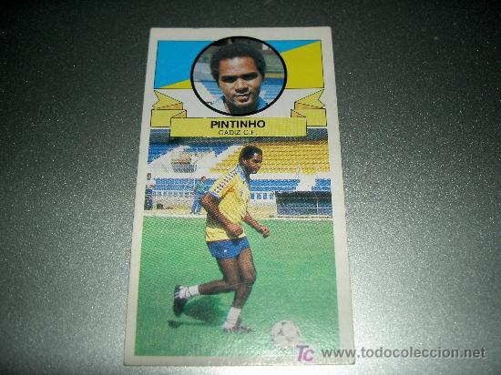 CROMO COLOCA FICHAJE 9 PINTINHO CADIZ CROMOS ALBUM EDICIONES ESTE LIGA FUTBOL 1985-1986 85-86 (Coleccionismo Deportivo - Álbumes y Cromos de Deportes - Cromos de Fútbol)