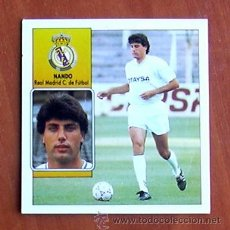Cromos de Fútbol: REAL MADRID - NANDO - EDICIONES ESTE 1992-1993, 92-93. Lote 20326743