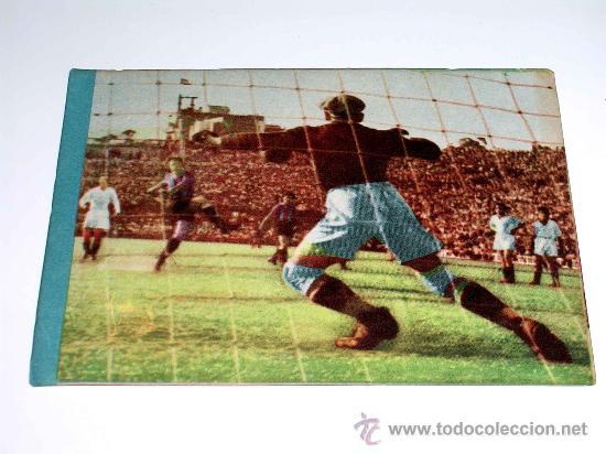 CROMO FÚTBOL Nº 9 ACUÑA, DEPORTIVO CORUÑA, CROMOS VENCEDOR, ED. BRUGUERA, CRISOL, ORIGINAL 1944-45 (Coleccionismo Deportivo - Álbumes y Cromos de Deportes - Cromos de Fútbol)