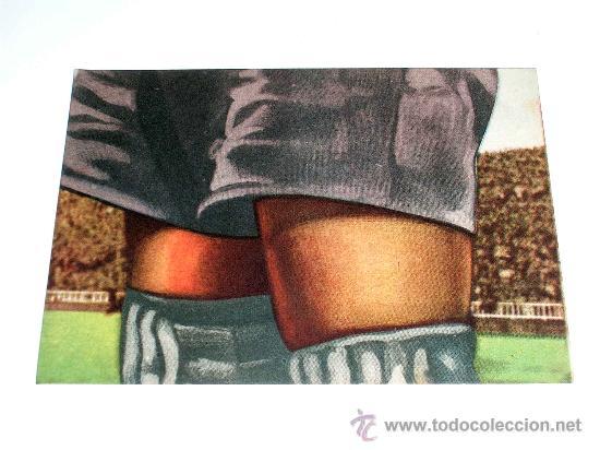 CROMO FÚTBOL Nº 11 ACUÑA, DEPORTIVO CORUÑA, CROMOS VENCEDOR, ED. BRUGUERA, CRISOL, ORIGINAL 1944-45 (Coleccionismo Deportivo - Álbumes y Cromos de Deportes - Cromos de Fútbol)