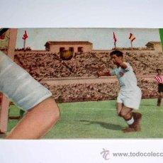 Cromos de Fútbol: CROMO FÚTBOL Nº 4 BARINAGA, REAL MADRID F.C, CROMOS VENCEDOR, ED. BRUGUERA, CRISOL, ORIGINAL 1944-45. Lote 20948250