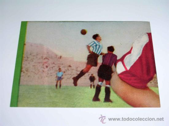 CROMO FÚTBOL Nº 6 GERMÁN, AT. AVIACIÓN, CROMOS VENCEDOR, ED BRUGUERA, CRISOL, ORIGINAL 1944-45 (Coleccionismo Deportivo - Álbumes y Cromos de Deportes - Cromos de Fútbol)