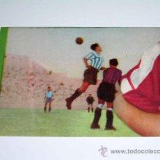 Cromos de Fútbol: CROMO FÚTBOL Nº 6 GERMÁN, AT. AVIACIÓN, CROMOS VENCEDOR, ED BRUGUERA, CRISOL, ORIGINAL 1944-45. Lote 20950205