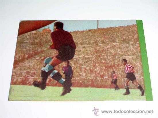 CROMO FÚTBOL Nº 7 GERMÁN, AT. AVIACIÓN, CROMOS VENCEDOR, ED BRUGUERA, CRISOL, ORIGINAL 1944-45 (Coleccionismo Deportivo - Álbumes y Cromos de Deportes - Cromos de Fútbol)