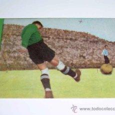 Cromos de Fútbol: CROMO FÚTBOL Nº 12 GERMÁN, AT. AVIACIÓN, CROMOS VENCEDOR, ED BRUGUERA, CRISOL, ORIGINAL 1944-45. Lote 20950311