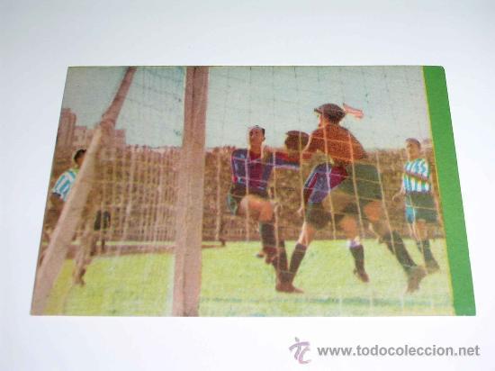 CROMO FÚTBOL Nº 16 GERMÁN, AT. AVIACIÓN, CROMOS VENCEDOR, ED BRUGUERA, CRISOL, ORIGINAL 1944-45 (Coleccionismo Deportivo - Álbumes y Cromos de Deportes - Cromos de Fútbol)
