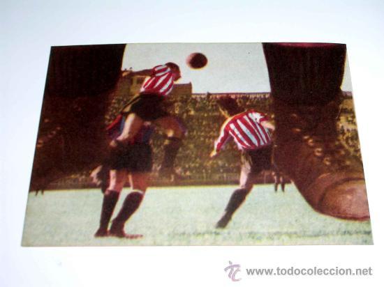 CROMO FÚTBOL Nº 17 MACHÍN, ATLÉTICO AVIACIÓN, CROMOS VENCEDOR, ED BRUGUERA, CRISOL, ORIGINAL 1944-45 (Coleccionismo Deportivo - Álbumes y Cromos de Deportes - Cromos de Fútbol)