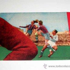 Cromos de Fútbol: CROMO FÚTBOL Nº 4 EIZAGUIRRE, VALENCIA C.F., CROMOS VENCEDOR, ED BRUGUERA, CRISOL, ORIGINAL 1944-45. Lote 20954019
