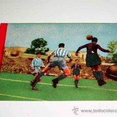 Cromos de Fútbol: CROMO FÚTBOL Nº 18 EIZAGUIRRE, VALENCIA C.F., CROMOS VENCEDOR, ED BRUGUERA, CRISOL, ORIGINAL 1944-45. Lote 23356596
