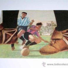 Cromos de Fútbol: CROMO FÚTBOL Nº 17 MATEO, SEVILLA F.C., CROMOS VENCEDOR, ED BRUGUERA, CRISOL, ORIGINAL 1944-45. Lote 20954085