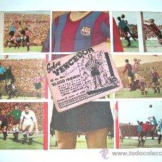 Cromos de Fútbol: SOBRE ORIGINAL + 9 CROMOS BARCELONA C.F.,FÚTBOL CROMOS VENCEDOR, ED BRUGUERA, CRISOL, AÑO 1944-45. Lote 27605829
