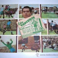 Cromos de Fútbol: SOBRE ORIGINAL + 9 CROMOS VALENCIA C.F.,FÚTBOL CROMOS VENCEDOR, ED BRUGUERA, CRISOL, AÑO 1944-45. Lote 27642391