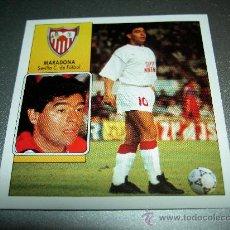 Cromos de Fútbol: CROMO COLOCA MARADONA SEVILLA CROMOS ALBUM EDICIONES ESTE LIGA FUTBOL 1992 1993 92 93. Lote 27115446