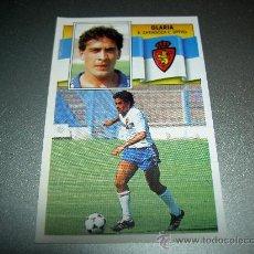 Cromos de Fútbol: CROMO GLARIA ZARAGOZA CROMOS ALBUM LIGA FUTBOL EDICIONES ESTE 1990-1991 90-91 . Lote 21982453