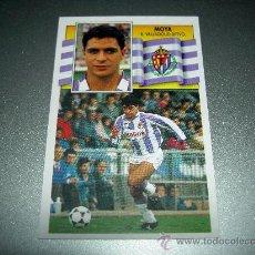 Cromos de Fútbol - CROMO MOYA VALLADOLID CROMOS ALBUM LIGA FUTBOL EDICIONES ESTE 1990-1991 90-91 - 22071220