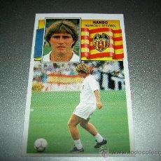 Cromos de Fútbol: CROMO NANDO VALENCIA CROMOS ALBUM LIGA FUTBOL EDICIONES ESTE 1990-1991 90-91 . Lote 22075413