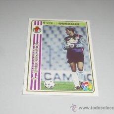 Cromos de Fútbol: FICHA DE LA LIGA 1994 1995 94 95 MUNDICROMOS FUTBOL REAL VALLADOLID GONZALEZ. Lote 235052440