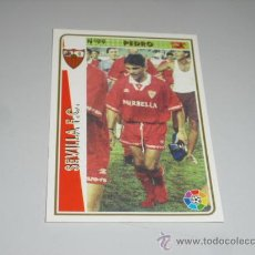 Cromos de Fútbol: FICHA DE LA LIGA 1994 1995 94 95 MUNDICROMOS FUTBOL SEVILLA F.C. PEDRO. Lote 235053515