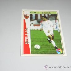 Cromos de Fútbol: FICHA DE LA LIGA 1994 1995 94 95 MUNDICROMOS FUTBOL SEVILLA F.C. BANGO. Lote 235052085