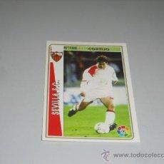 Cromos de Fútbol: FICHA DE LA LIGA 1994 1995 94 95 MUNDICROMOS FUTBOL SEVILLA F.C. CORTIJO. Lote 235052185