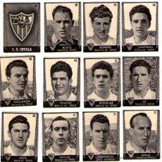 Cromos de Fútbol: BRUGUERA ASES 53-54 / CARAMELOS TURMO - SEVILLA. Lote 22338456