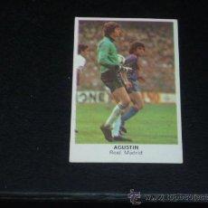 Cromos de Fútbol: CROMOS CANO - FÚTBOL 84 - AGUSTÍN - R. MADRID ( NUNCA PEGADO ). 1983/84 (). Lote 22425704