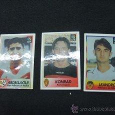 Cromos de Fútbol: LOTE 3 CROMOS - BOLLYCAO LIGA 96-97 - . Lote 22547083