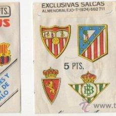 Cromos de Fútbol: SOBRE VACÍO Y CROMO CORDOBA SUPER ADHESIVOS FUTBOL EX. SALCAS ALMENDRALEJO. Lote 268604759