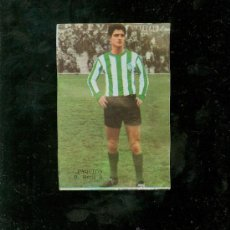 Cromos de Fútbol: CAMPEONATO DE LIGA 1964-1965. EDITORIAL FHER. PAQUITO. R. BETIS B.. Lote 23380023