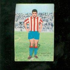 Cromos de Fútbol: CAMPEONATO DE LIGA 1964-1965. EDITORIAL FHER. E. MARTIÑEZ. A. MADRID.. Lote 23380031