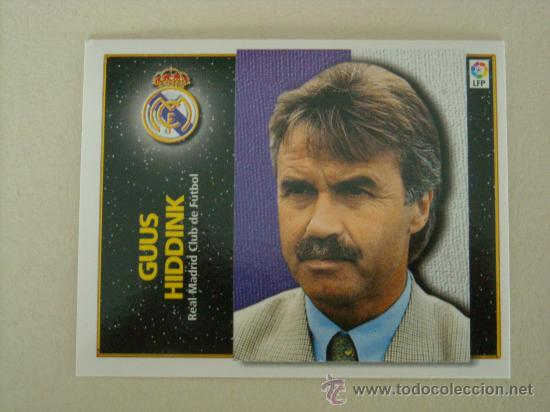 ESTE 98 99 GUUS HIDDINK REAL MADRID 1998 1999 NUEVO Coleccionismo Deportivo
