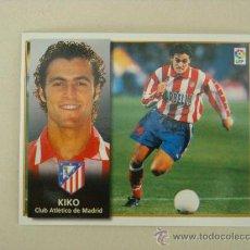 Cromos de Fútbol: ESTE 98-99 KIKO ATLETICO MADRID 1998-1999 NUEVO. Lote 23405182