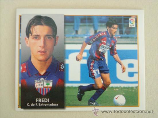 ESTE 98-99 FREDI EXTREMADURA 1998-1999 NUEVO (Coleccionismo Deportivo - Álbumes y Cromos de Deportes - Cromos de Fútbol)