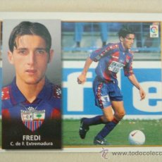Cromos de Fútbol: ESTE 98-99 FREDI EXTREMADURA 1998-1999 NUEVO. Lote 23405340