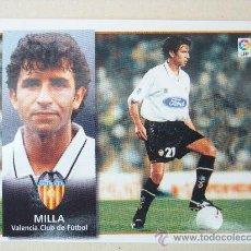 Cromos de Fútbol: ESTE 98-99 MILLA VALENCIA 1998-1999 NUEVO. Lote 23400966