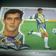 Cromos de Fútbol: CROMO RICARDO VALLADOLID CROMOS ALBUM LIGA FUTBOL EDICIONES ESTE 2000-2001 00-01. Lote 161397148