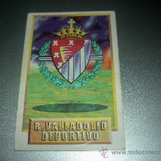 Cromos de Fútbol: CROMO ESCUDO VALLADOLID CROMOS ALBUM EDICIONES ESTE LIGA FUTBOL 1993-1994 93-94 . Lote 23682363