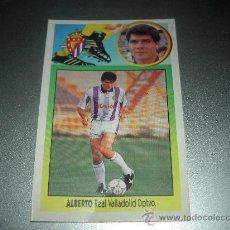 Cromos de Fútbol: CROMO ALBERTO VALLADOLID CROMOS ALBUM EDICIONES ESTE LIGA FUTBOL 1993-1994 93-94 . Lote 23682528